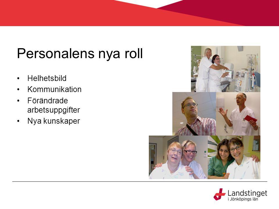 Anslutning av ytterligare Landsting •Alla Landsting i Sverige har nyttjanderätt av tjänsten som ligger i Mina vårdkontakter •Halland och Västerbotten går med f.o.m 1 feb 2013 med ca 8 mottagningar var.