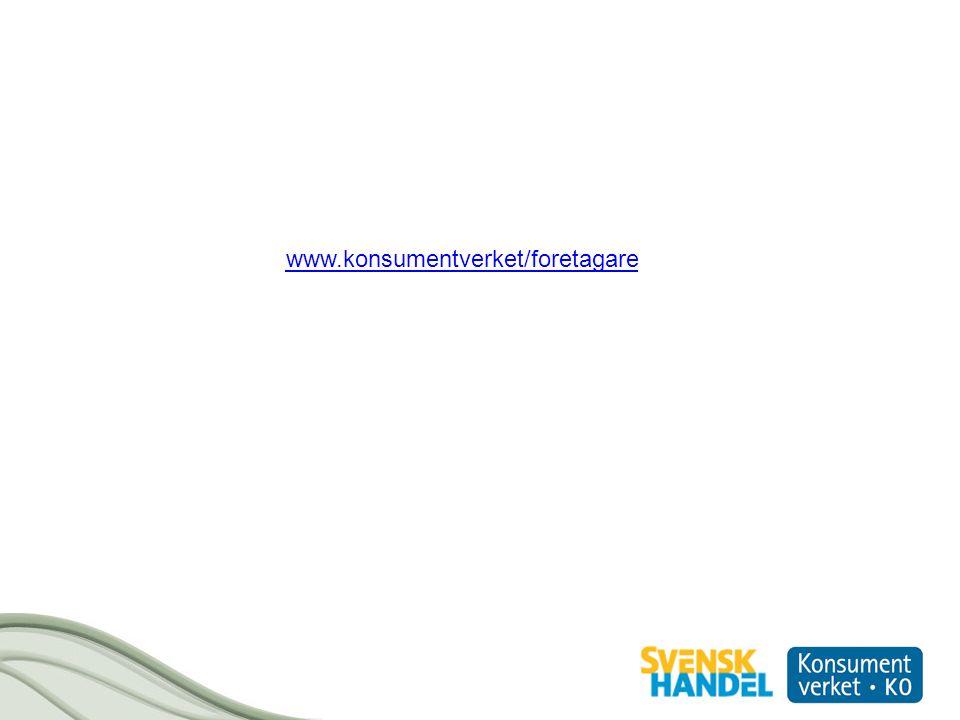www.konsumentverket/foretagare