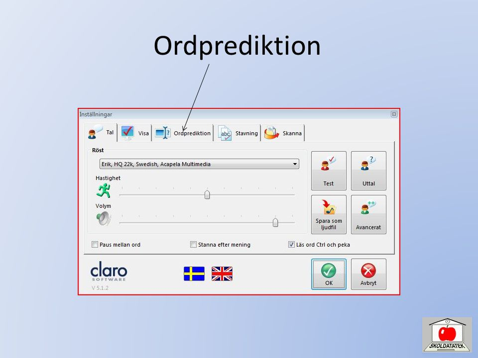 Ordprediktion