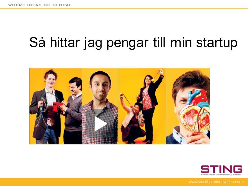 Jeppen på scenen •Peo Nilsson •20 år inom Internet/media •Entreprenör och investerare (drygt 20 bolag).