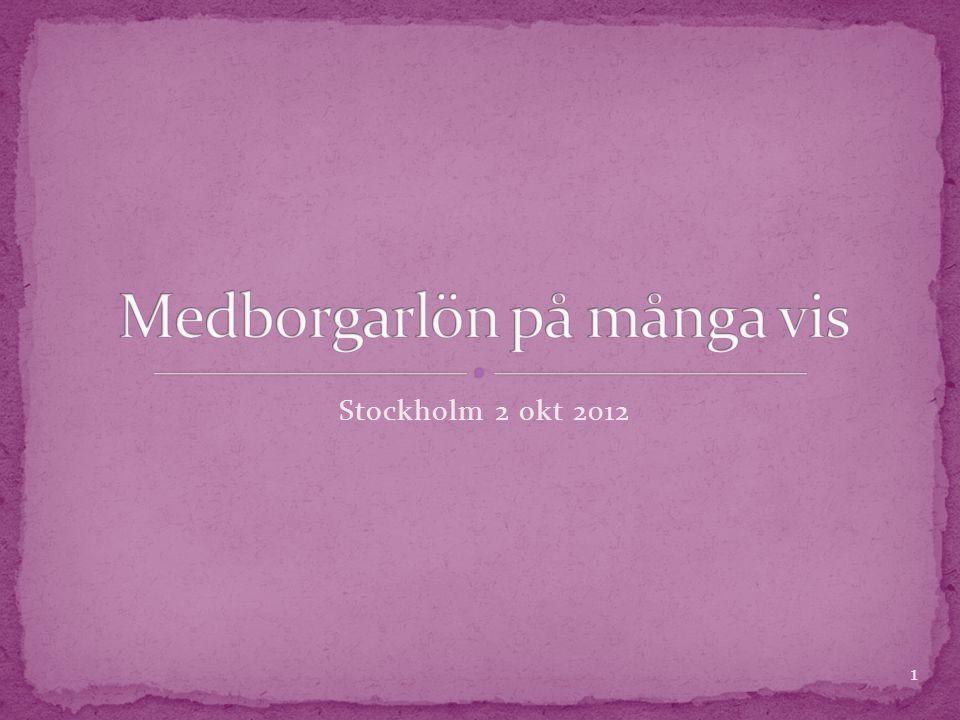 Stockholm 2 okt 2012 1