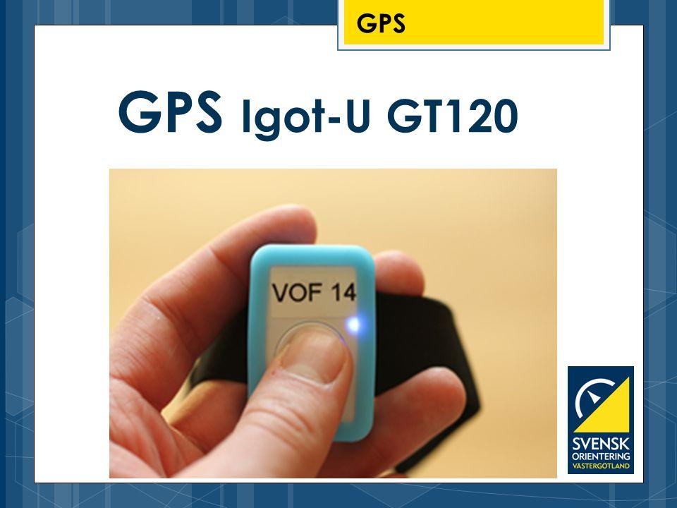 GPS GPS Igot-U GT120