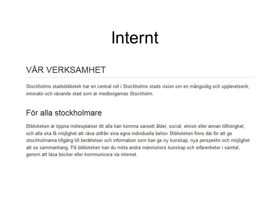 Internt