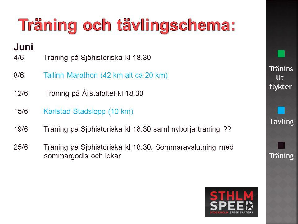 Tränins Ut flykter Tävling Träning Maj 1/5 Tur på Drottningholm kl 10-12.