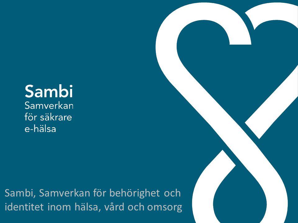 Sambi, Samverkan för behörighet och identitet inom hälsa, vård och omsorg
