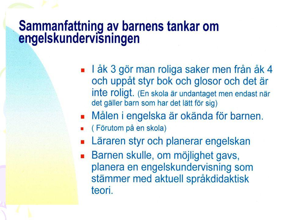 Olika Undervisningsstrategier och typen av elevinflytande ( Forsberg 2000) Materiella Förmedlingspedagogik Utgår från att eleven skall fyllas.