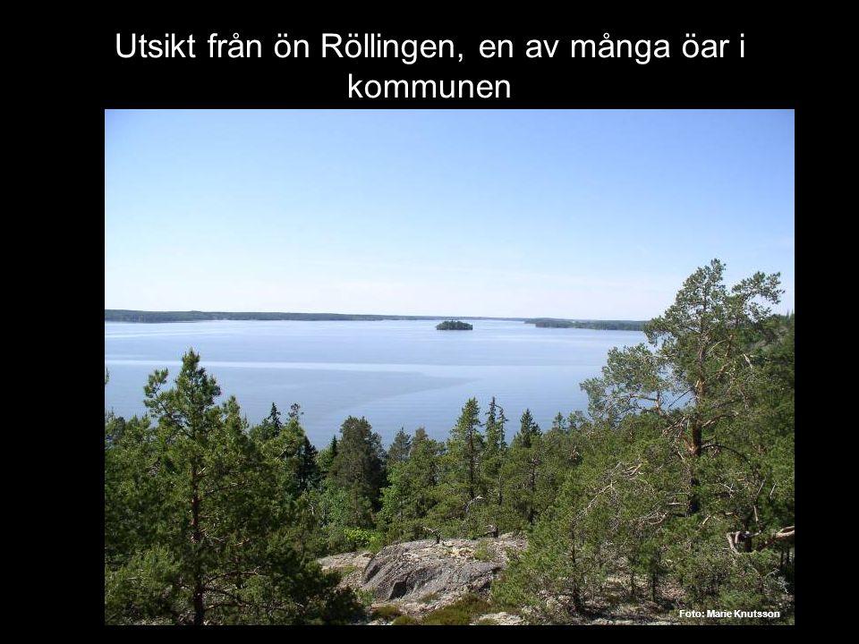 Utsikt från ön Röllingen, en av många öar i kommunen g Foto: Marie Knutsson
