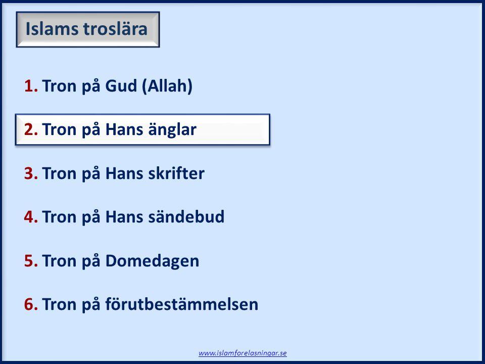 www.islamforelasningar.se Avslutning - Session 6