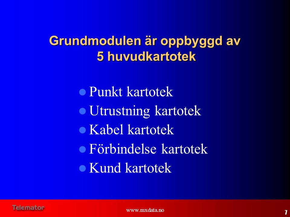 www.mxdata.no  Kurser hållas i kundernas lokaler  Öppna kurser hålls i Oslo eller Stockholm, och är annonserade på ww.mxdata.noww.mxdata.no – Baskurs (2 dagar) – Utrustning-/fiberkurs (2 dagar) 38 Kurs