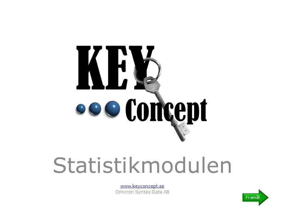 Statistikmodulen En enkel och kraftfull statistikmodul ger er möjlighet till att effektivt kommunicera eventuella styrkor eller brister i er incidenthantering.
