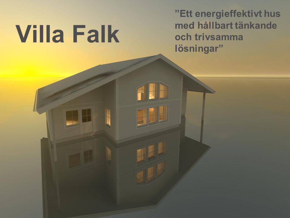 Villa Falk Ett energieffektivt hus med hållbart tänkande och trivsamma lösningar