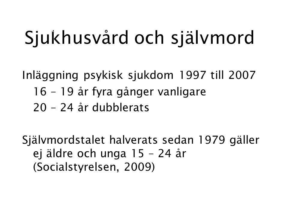 Riskfaktorer svårigheter komma in på arbetsmarknaden (Waenerlund, 2011) individualiseringen i samhället (Socialstyrelsen, 2009; SOU,2006) förlorad framtidstro