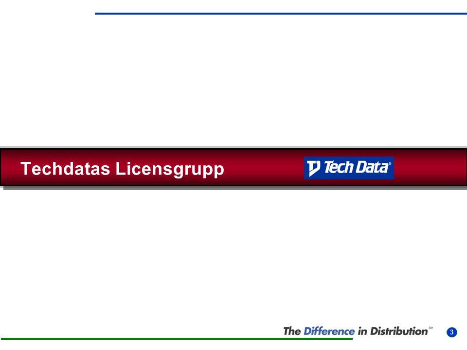 Techdatas Licensgrupp 3