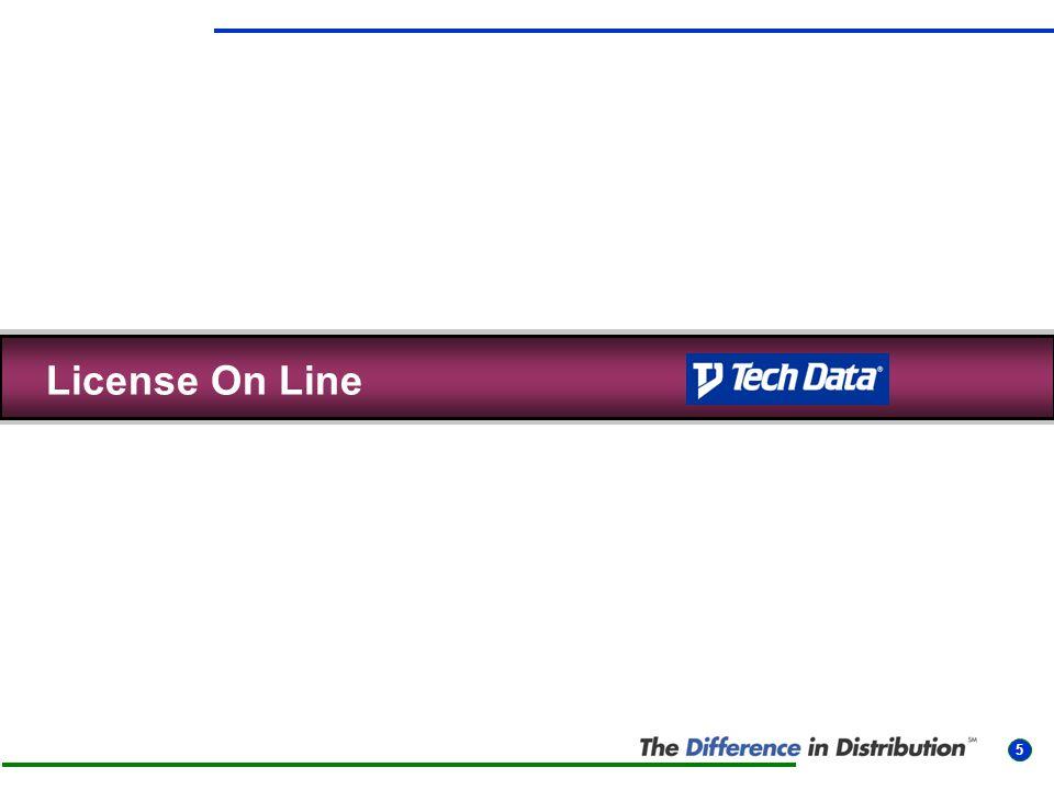 6 • Webbverktyg för att hitta rätt licenser • Håller reda på licensregler och nivåer åt dig • Enkelt att ta fram rätt artikelnummer och priser • Historik på dina licenskunder • Nås via Techdatas webb, www.techdata.nu