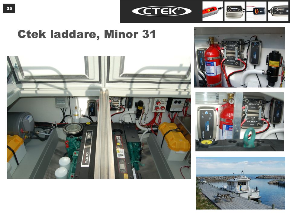 Ctek laddare, Minor 31 35
