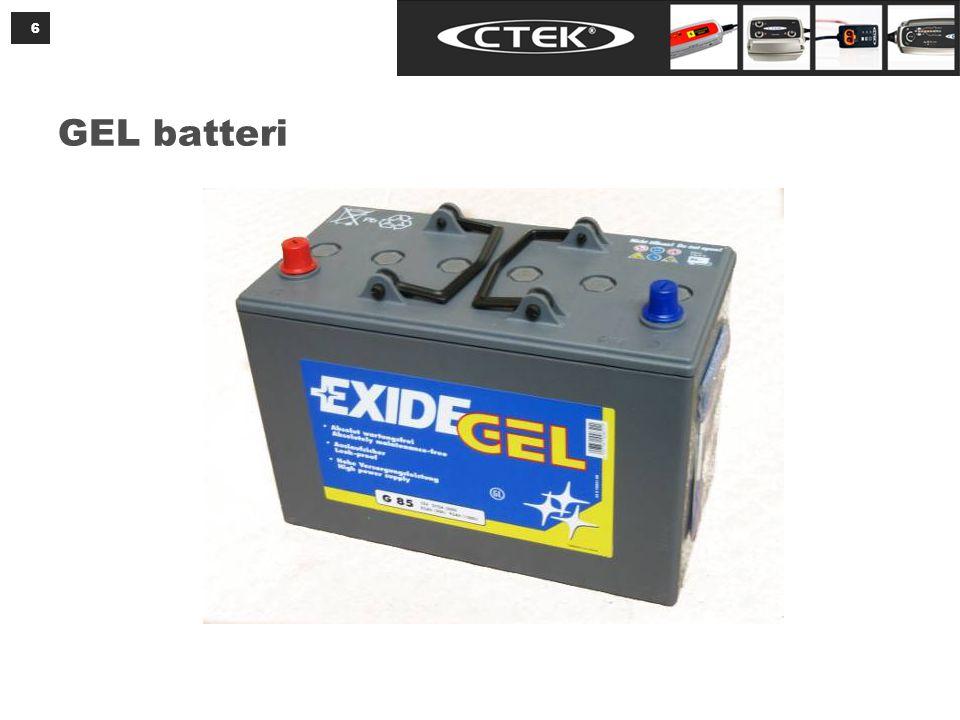 GEL batteri 6