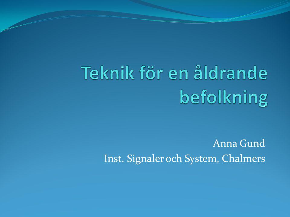 Anna Gund Inst. Signaler och System, Chalmers