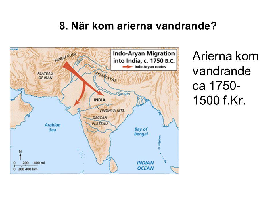9.Hur uppstod hinduismen.
