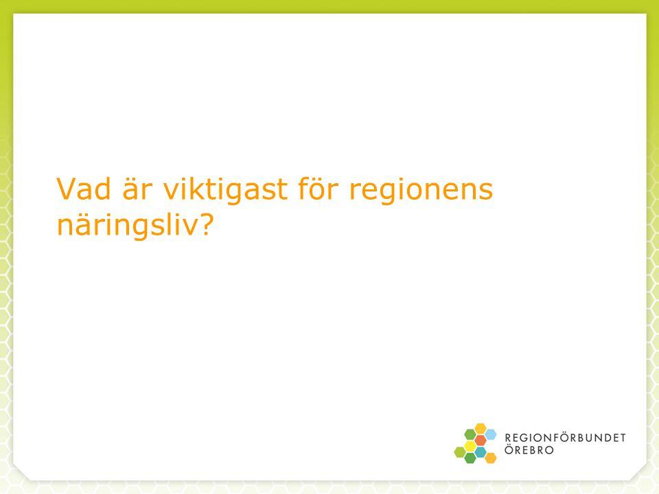 Ett exempel: Motorväg Örebro-Göteborg - sju miljarder - ger 310 jobb i Örebro