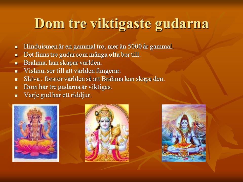 Livet FFFFör hinduer går livet i cirklar.När en människa dör så får själen ett nytt liv.
