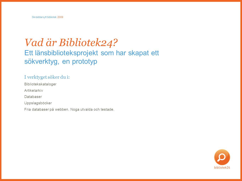 Men Bibliotek.se.