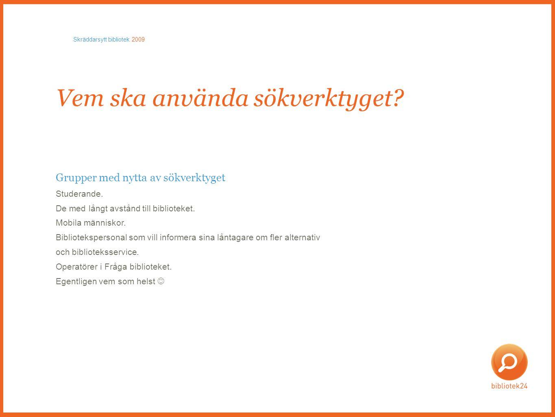 Databaser • Licensdatabaser Ebsco, Safari (e-böcker), Credo (referensböcker).
