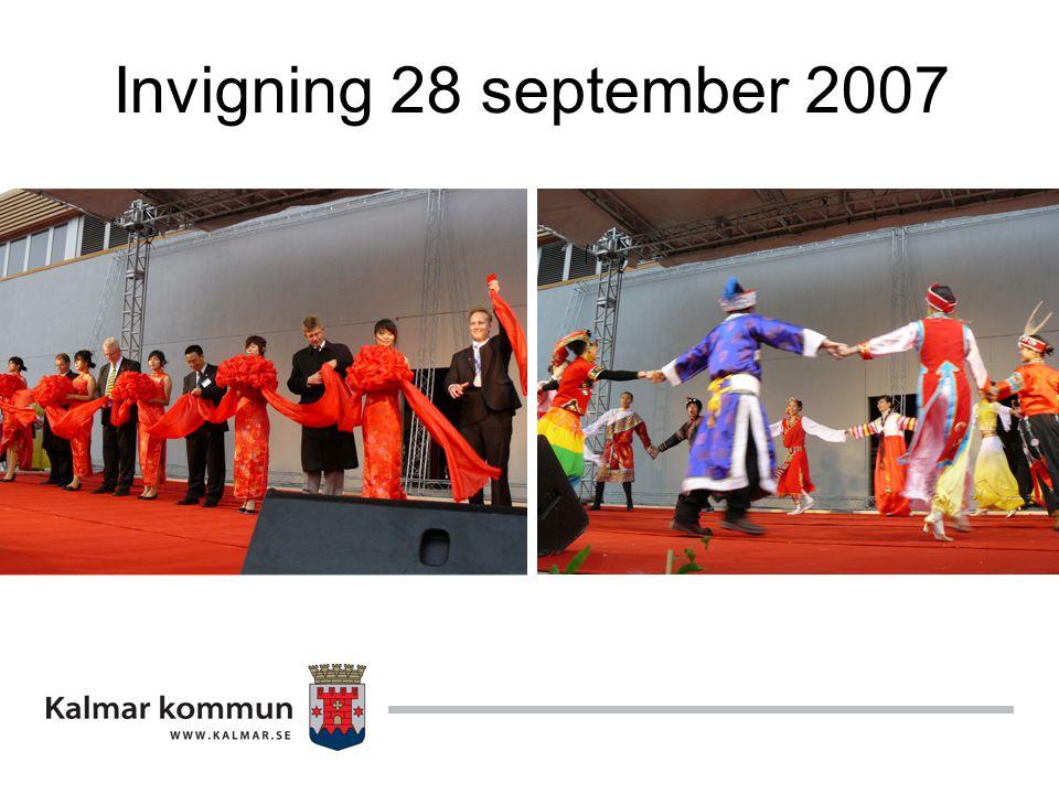 Invigning 28 september 2007