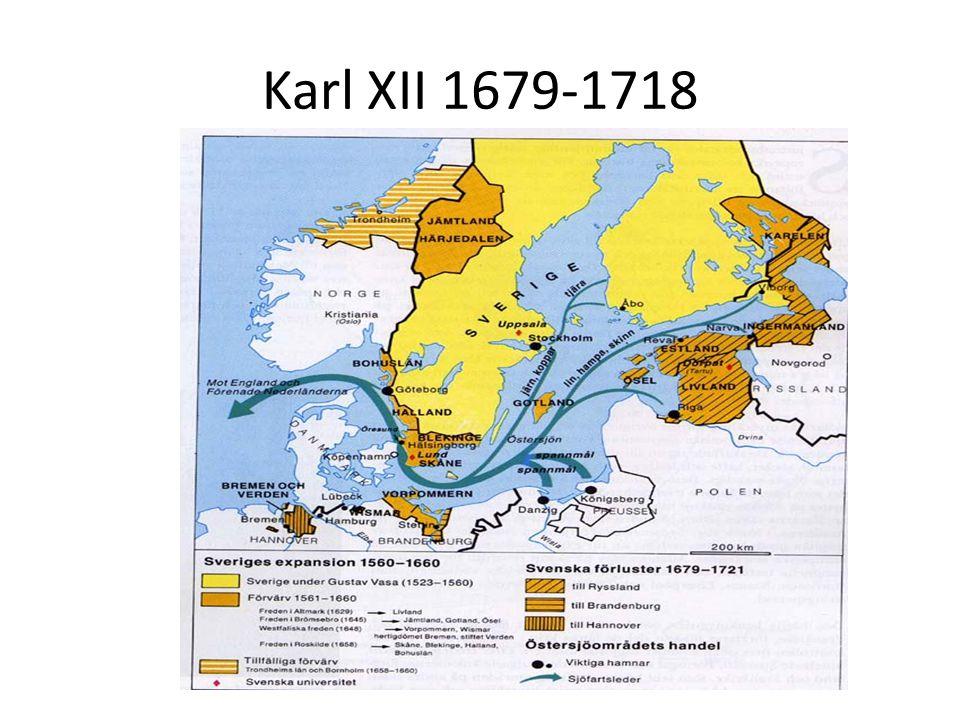 Karl XII 1679-1718