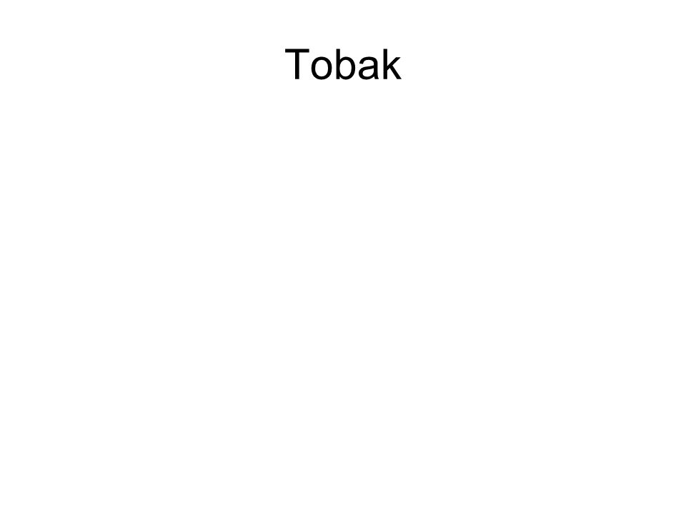 Tobak