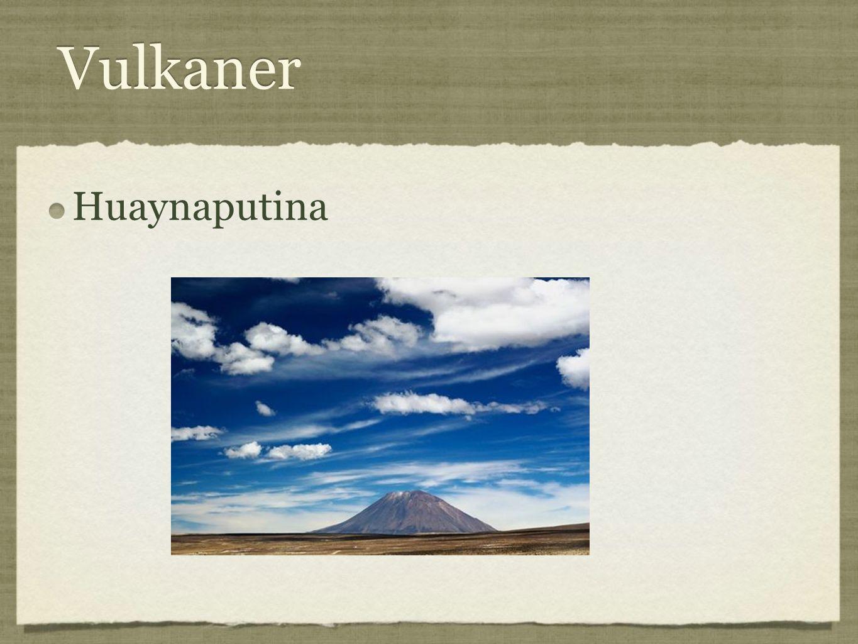 Vulkaner Huaynaputina