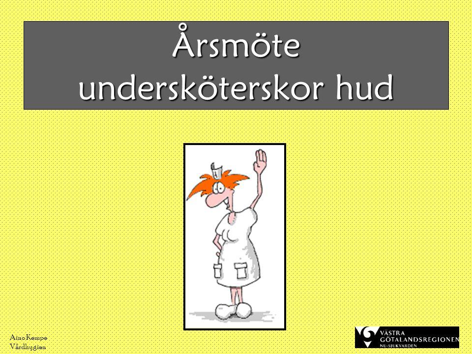 Aino Kempe Vårdhygien Var har du varit med dina händer?