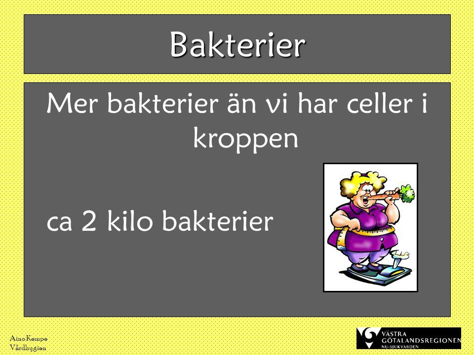 Aino Kempe Vårdhygien Hur sker spridningen.