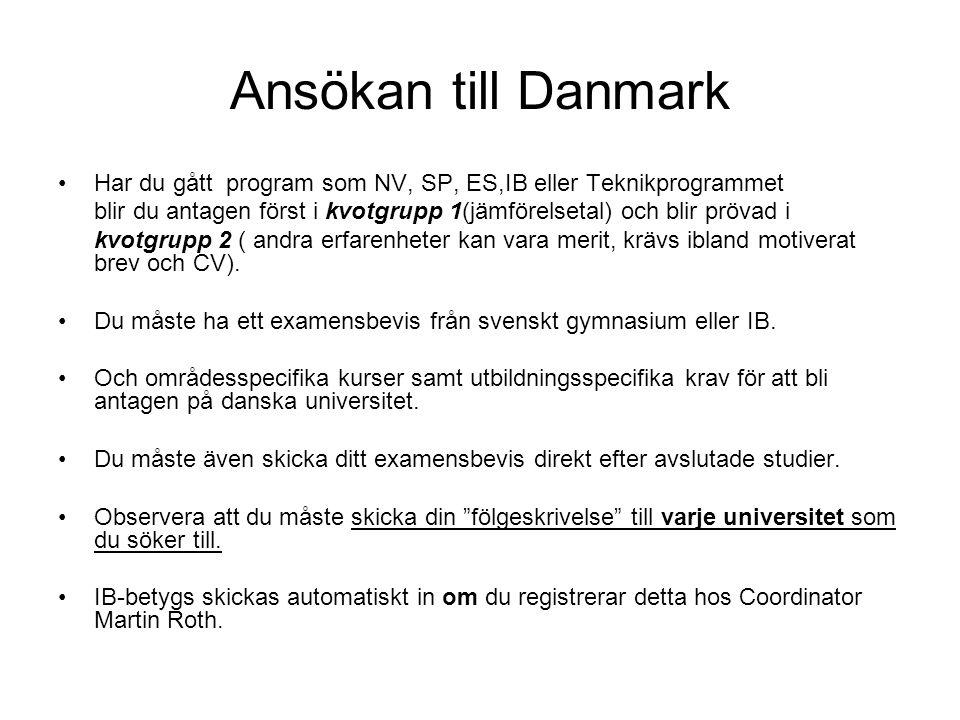 Tandläkare Köpenhamn •kvot 1 10,(19,78)(IB40) standby 9,7(19,74)(IB39) Aarhus •kvot 1 10,0(19,78)(IB40) •standby 9,8(19,76)(IB39)
