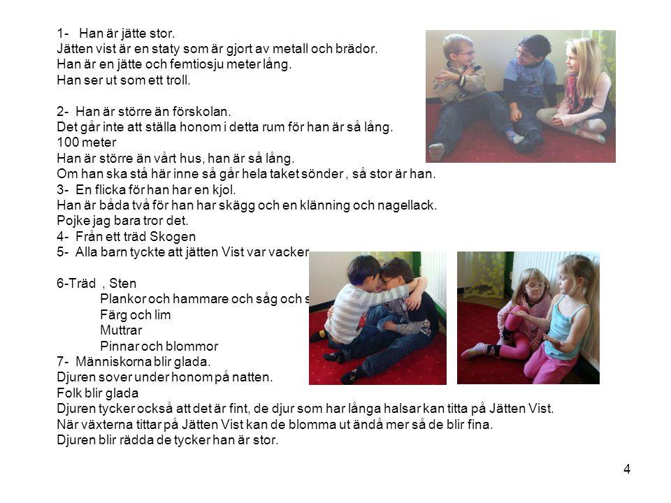 15 Förskolans dag- 20110519 Firande med Jätten Vist tårta.