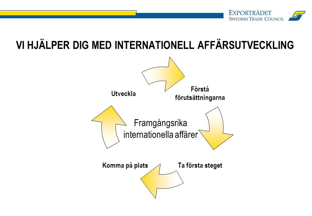 Framgångsrika internationella affärer Utveckla VI HJÄLPER DIG MED INTERNATIONELL AFFÄRSUTVECKLING