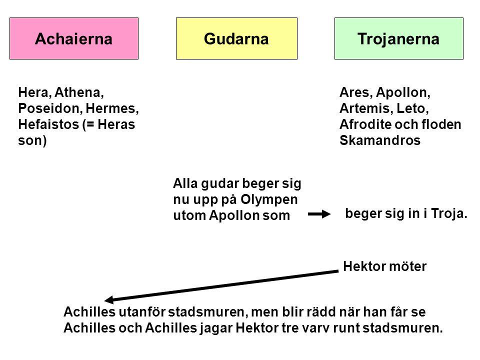 AchaiernaGudarnaTrojanerna Nu överger Apollon Hektor.