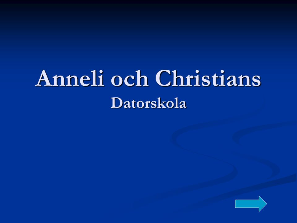 Anneli och Christians Datorskola