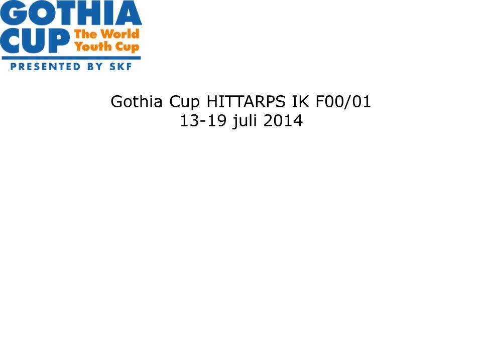Gothia Cup HITTARPS IK F00/01 13-19 juli 2014