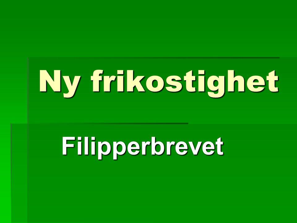 Ny frikostighet Filipperbrevet