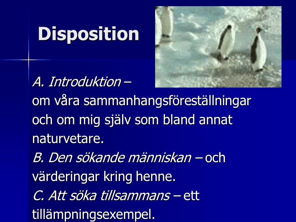 Disposition A.