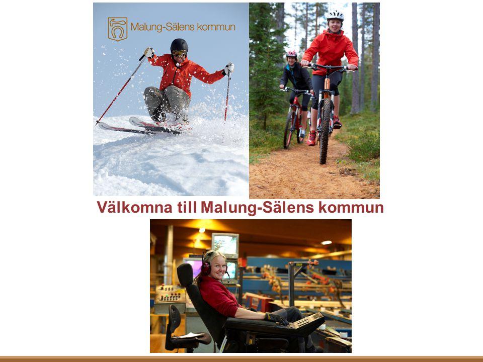 Malung-Sälens kommun med drygt 10 000 invånare ligger i det natursköna Dalarna.