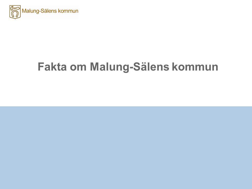 Fakta om Malung-Sälens kommun