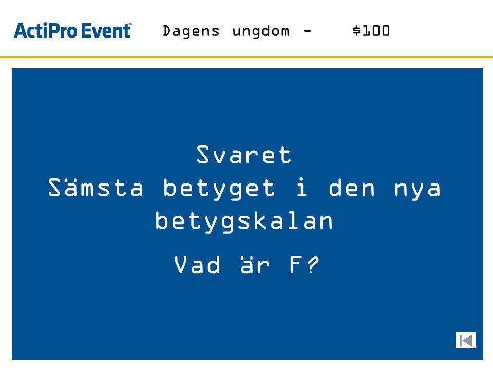 Svaret Bryggeriet med logga på AIK´s bröst Vad är Åbro? Öl-$100