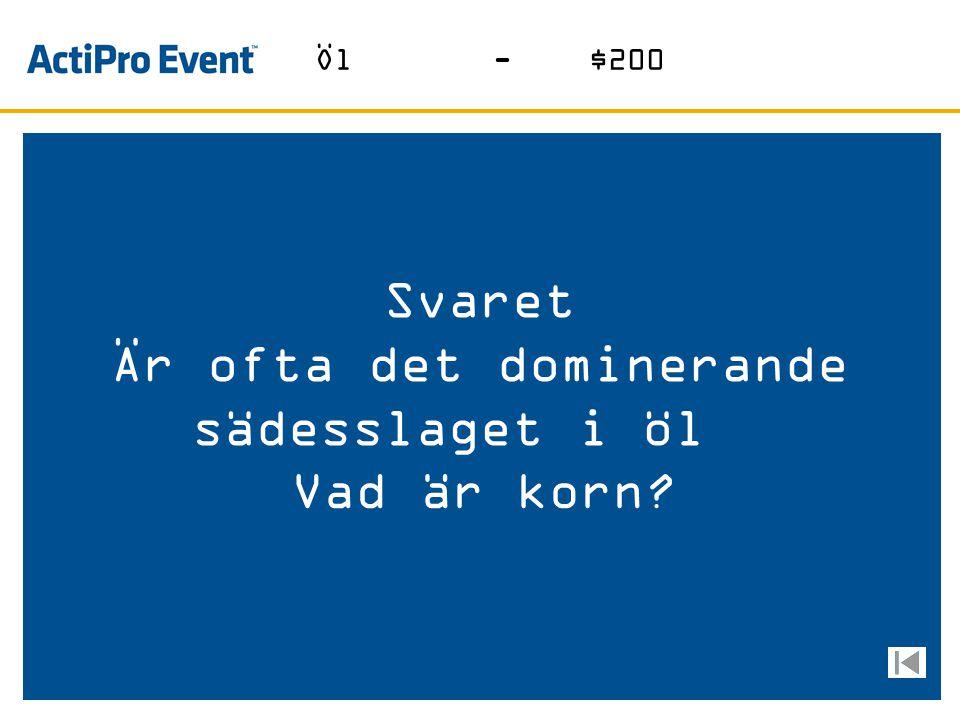 Svaret Bryggeriet med logga på AIK´s bröst Vad är Åbro Öl-$100