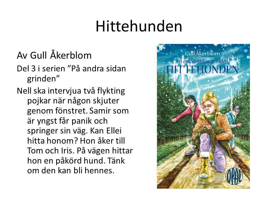 """Hittehunden Av Gull Åkerblom Del 3 i serien """"På andra sidan grinden"""" Nell ska intervjua två flykting pojkar när någon skjuter genom fönstret. Samir so"""