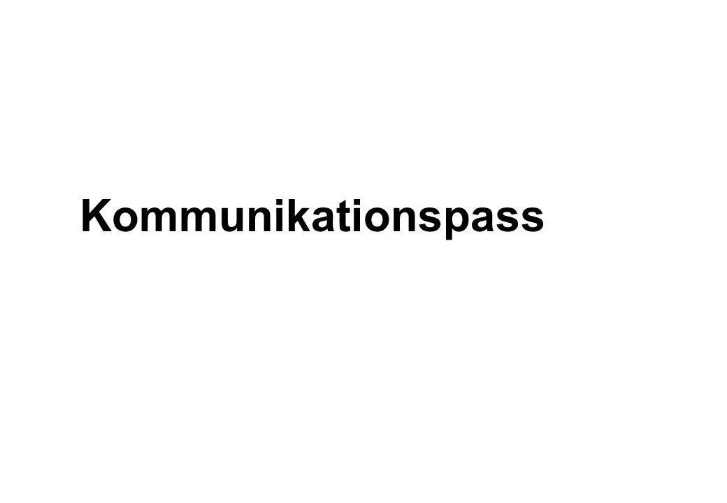 Kommunikationspass