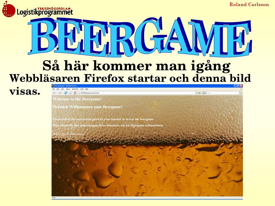Roland Carlsson Webbläsaren Firefox startar och denna bild visas. Så här kommer man igång