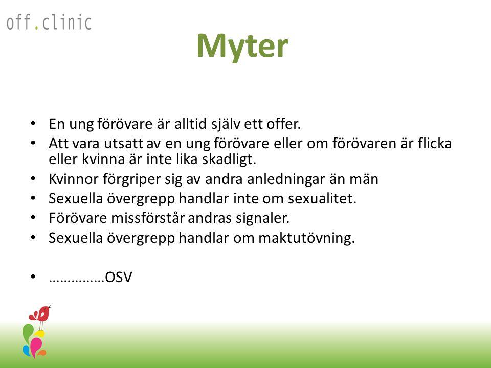 Myter • En ung förövare är alltid själv ett offer.