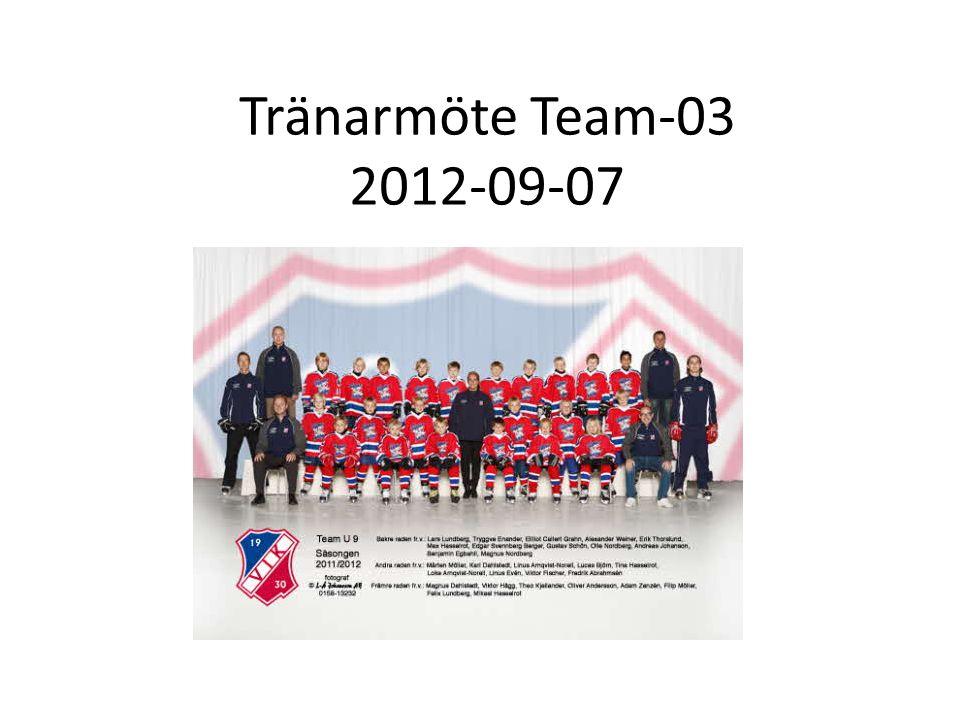 Tränarmöte Team-03 2012-09-07