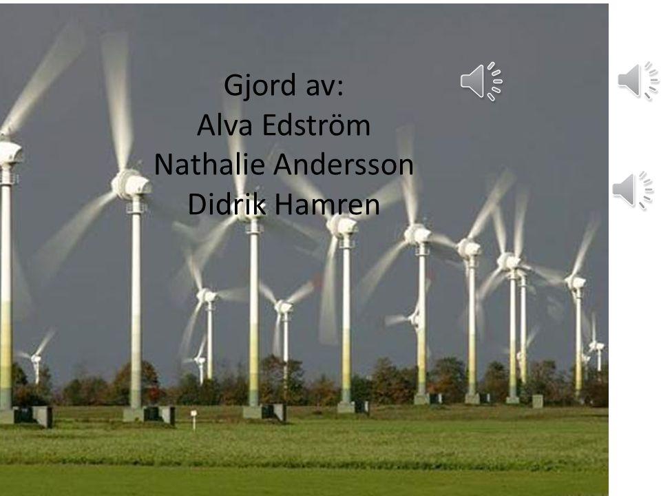 Gjord av: Alva Edström Nathalie Andersson Didrik Hamren